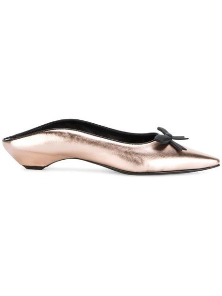 Fabrizio Viti Take a bow loafers in metallic