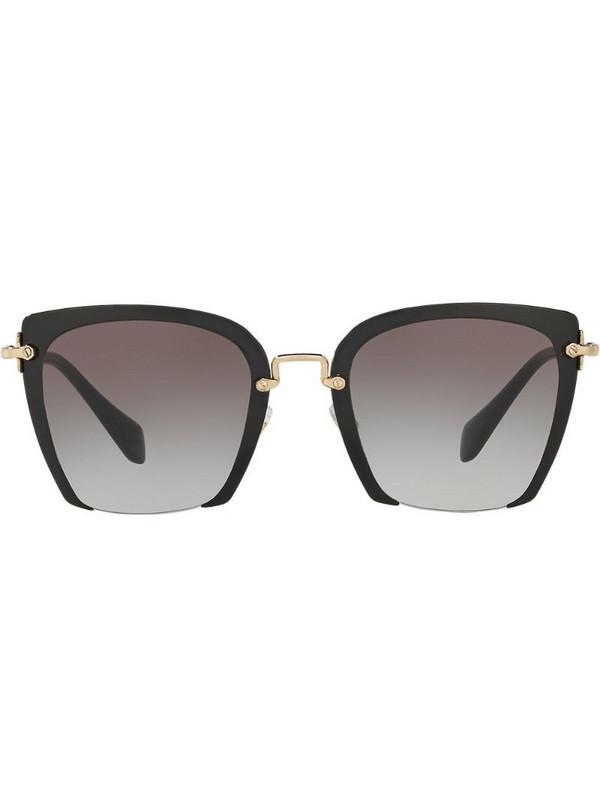 Miu Miu Eyewear Rasoir sunglasses in black