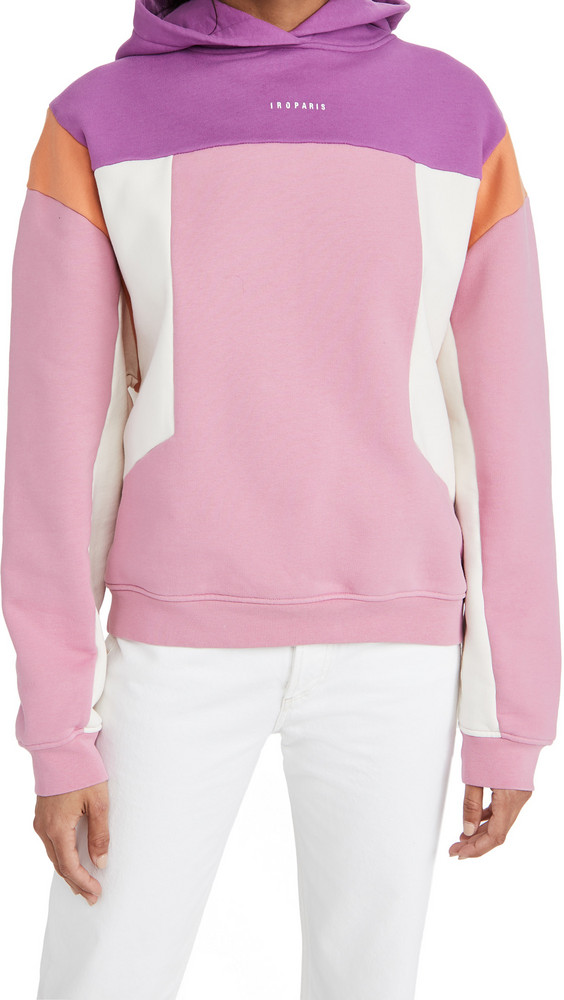 IRO Susane Sweatshirt in pink / purple