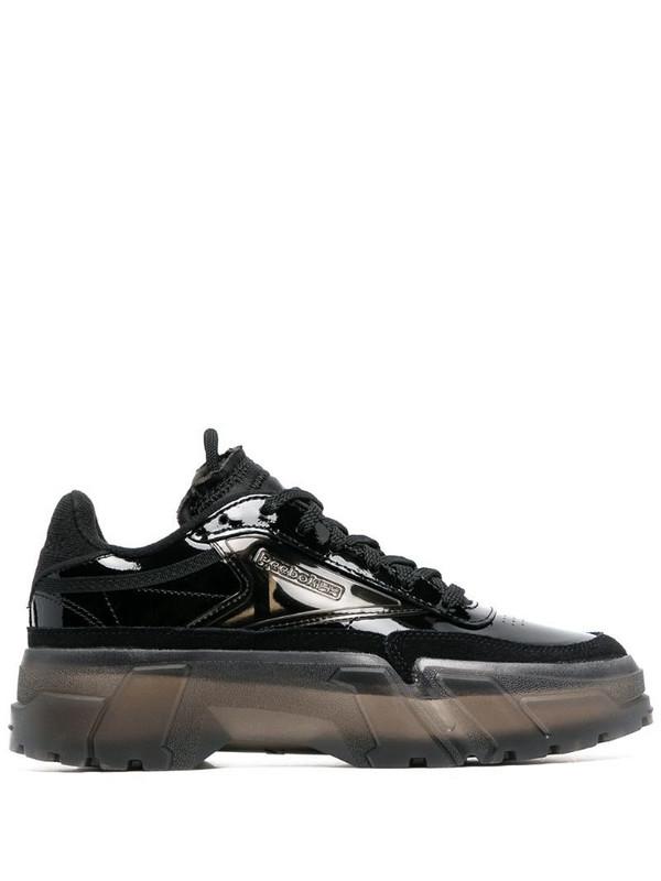 Reebok x Cardi B Club C low-top sneakers in black