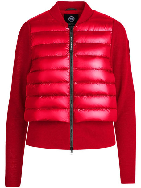 Canada Goose x Angel Chen HyBridge padded jacket in red