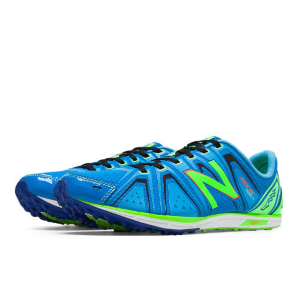New Balance XC700v3 Spikeless Men's Cross Country Shoes - Blue/Green (MXC700YR)