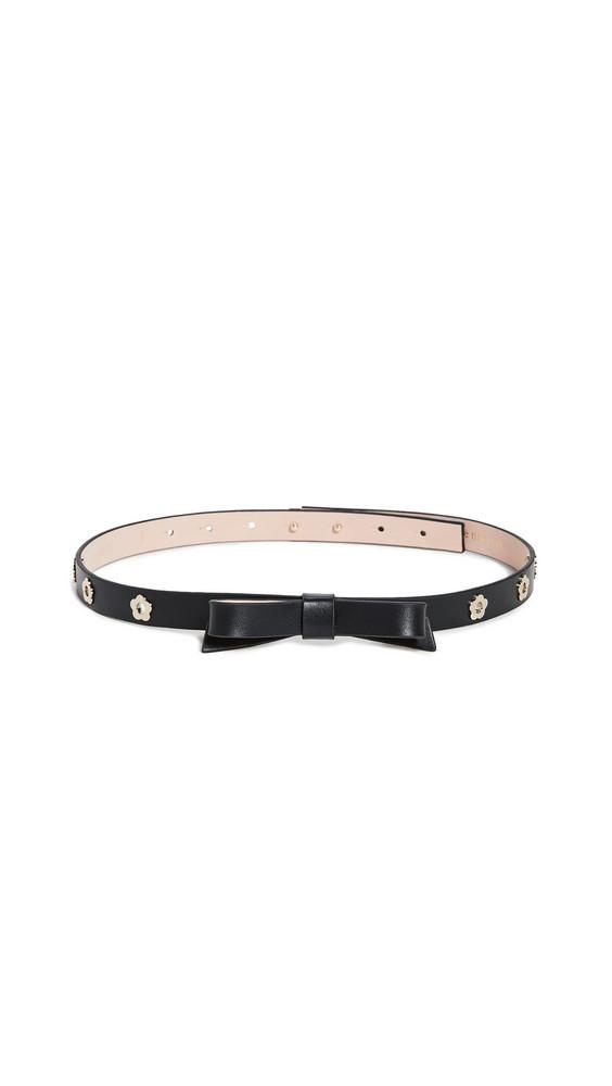 Kate Spade New York Bow Belt in black