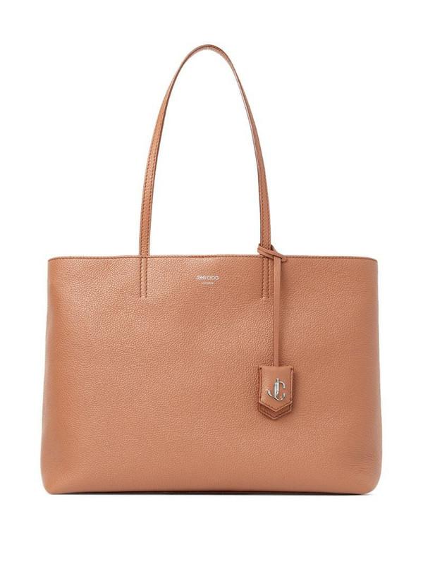 Jimmy Choo Nine2Five tote bag in brown