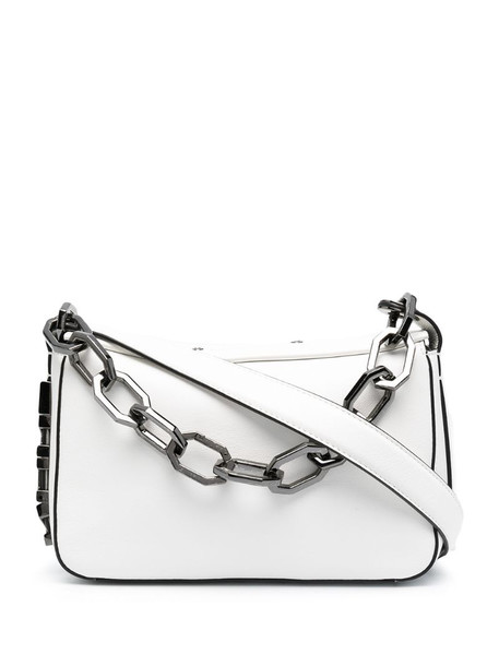 Karl Lagerfeld Letters shoulder bag in white