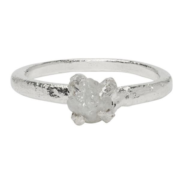 Pearls Before Swine Silver Raw Diamond Ring