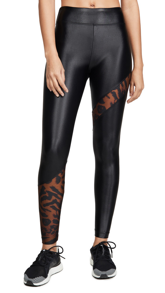KORAL ACTIVEWEAR Cheetara Leggings in brown