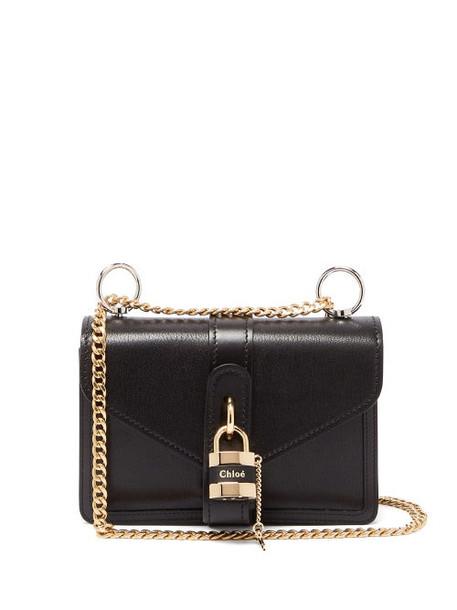 Chloé Chloé - Aby Leather Shoulder Bag - Womens - Black