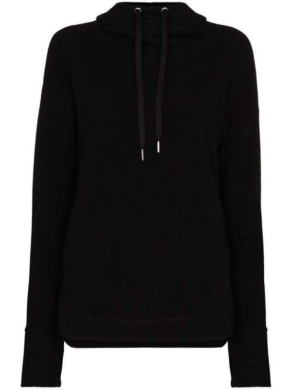 Sweaty Betty Escape Luxe fleece hoodie in black