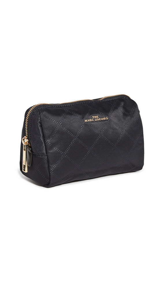 The Marc Jacobs Triangle Pouch Cosmetic Case in black