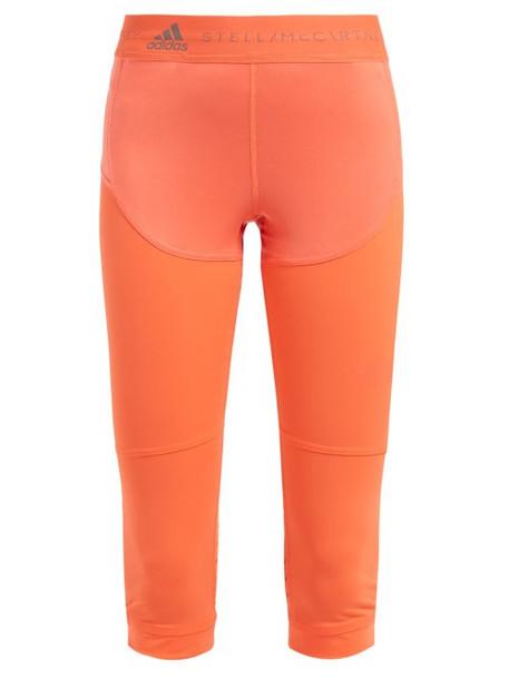 leggings orange pants