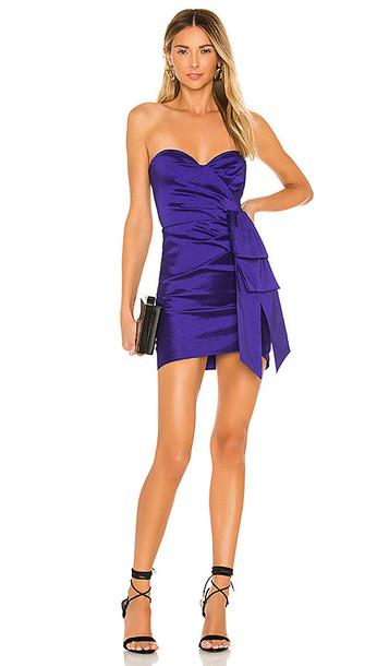 NBD Ale Dress in Purple