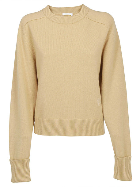 Chloé Chloè Cashmere Pullover in brown