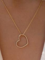 jewels,gold,diamonds,necklace,heart