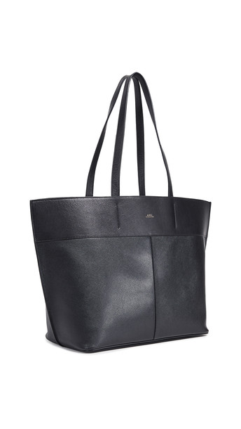 A.P.C. A.P.C. Totally Tote Bag in noir