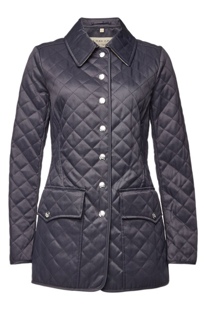 Burberry Quilted Jacket with Cotton  in black