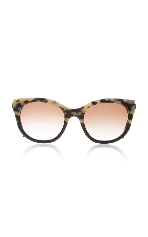 Thierry Lasry Lively Cat-Eye Printed Acetate Sunglasses in multi