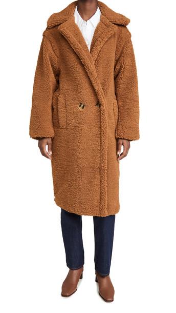 Apparis Daryna Coat in camel