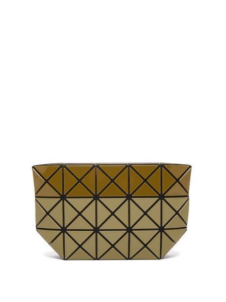 Bao Bao Issey Miyake - Prism Bi Texture Pouch - Womens - Khaki