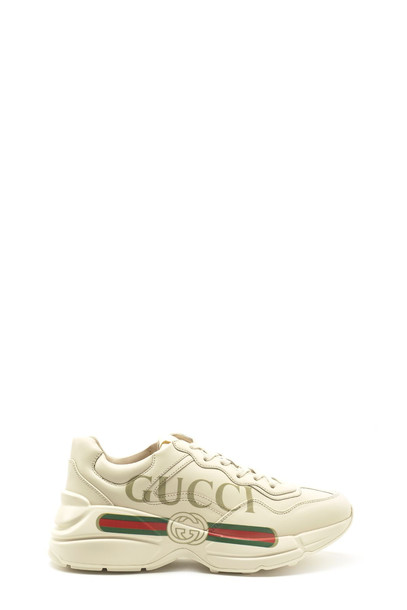 Gucci 'rhyton' Shoes in white