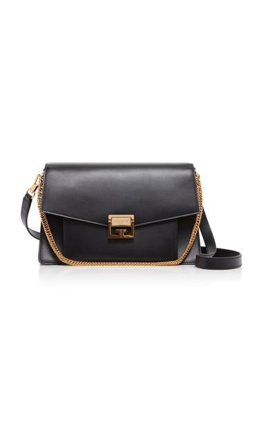 Givenchy GV3 Leather Shoulder Bag in black