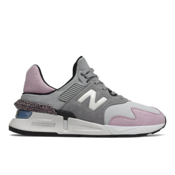 New Balance 997 Sport Women's US Site Exclusions Shoes - Grey/Pink (WS997JNC)