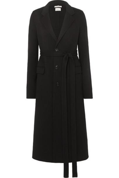 Bottega Veneta - Belted Wool Coat - Black
