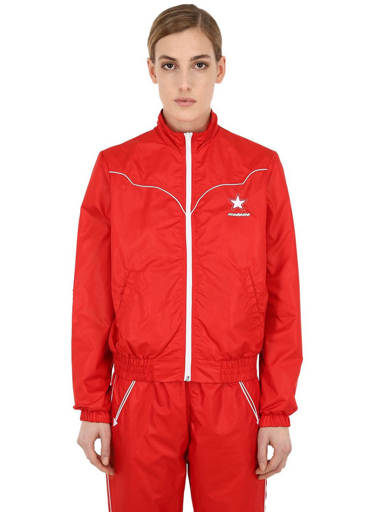 Converse X Mademe Western Track Jacket in tomato