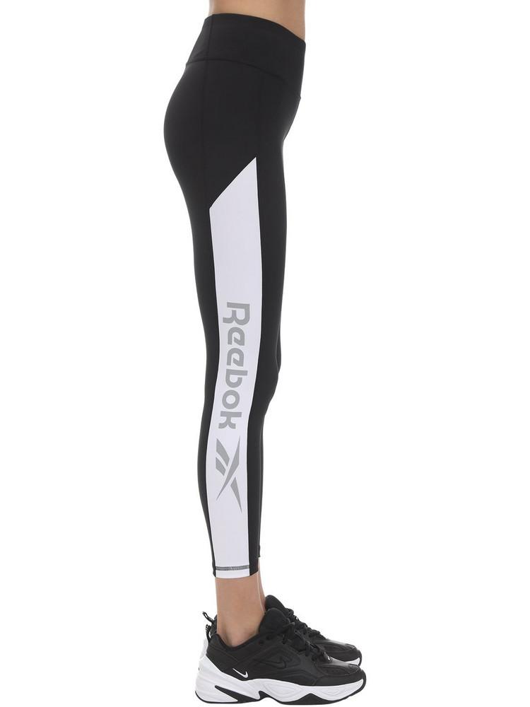 REEBOK CLASSICS Workout Ready Logo Leggings in black