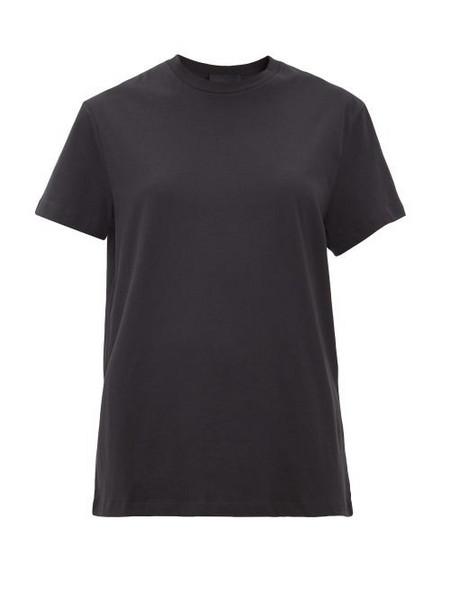 WARDROBE.NYC Wardrobe. nyc - Release 06 Round-neck Cotton-jersey T-shirt - Womens - Black