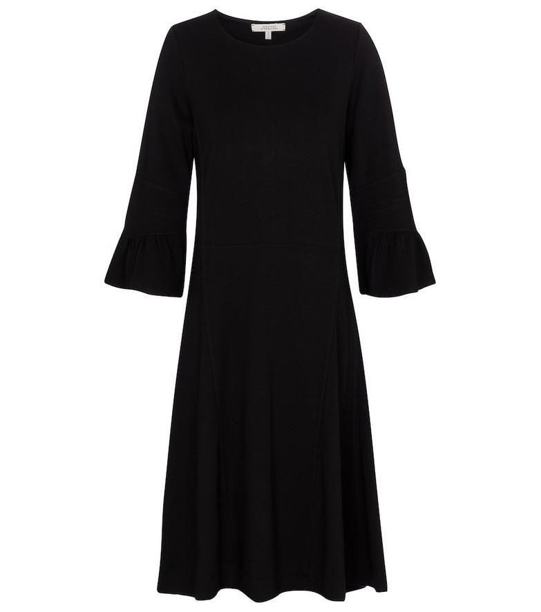Dorothee Schumacher City Allure jersey midi dress in black
