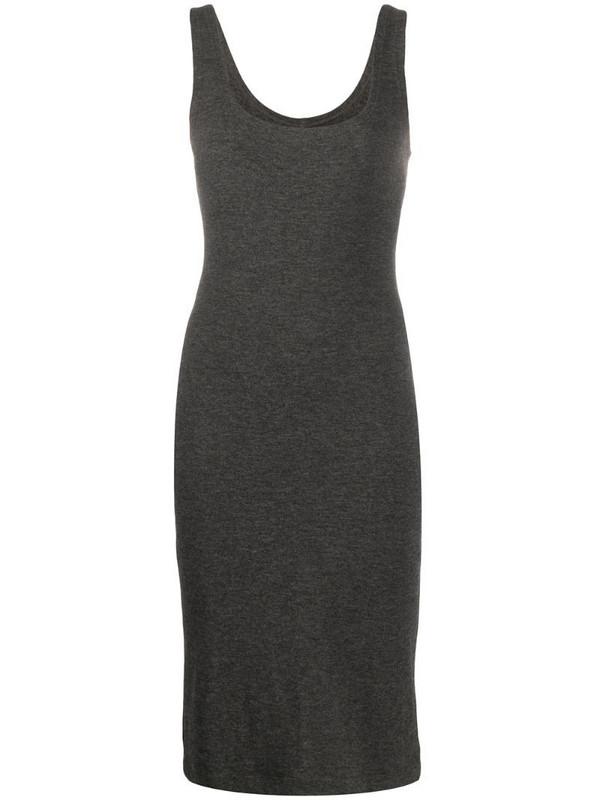 Dolce & Gabbana Pre-Owned stretch mini dress in grey