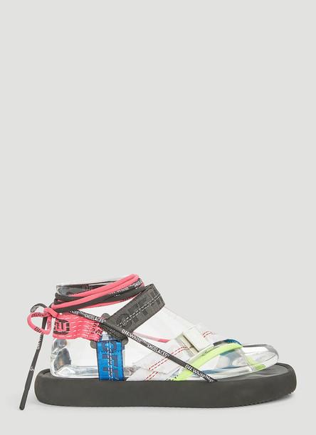 Off-White Multi-Strap Sandals in Black size EU - 36