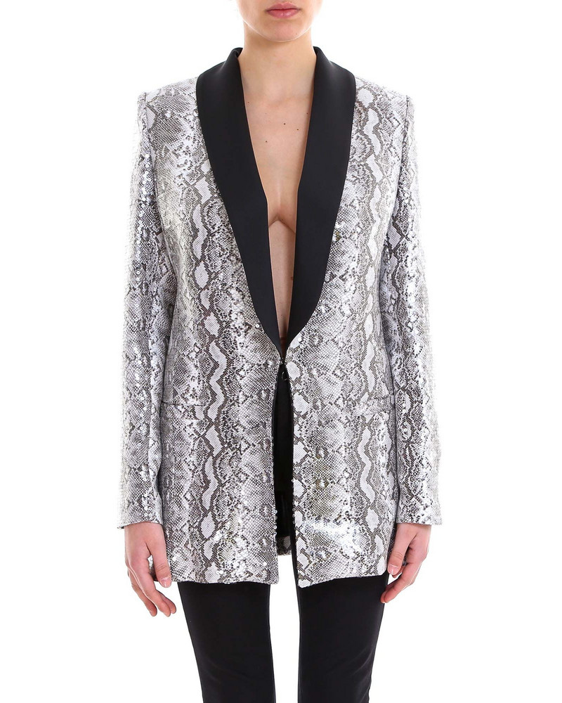 In The Mood For Love Edith Blazer in grey