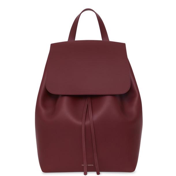 Mansur Gavriel Bordo Backpack - Bordo
