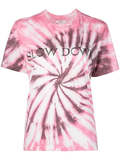 Isabel Marant Étoile tie-dye print T-shirt in pink