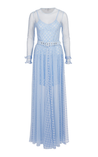 We Are Kindred Valencia Maxi Dress in blue