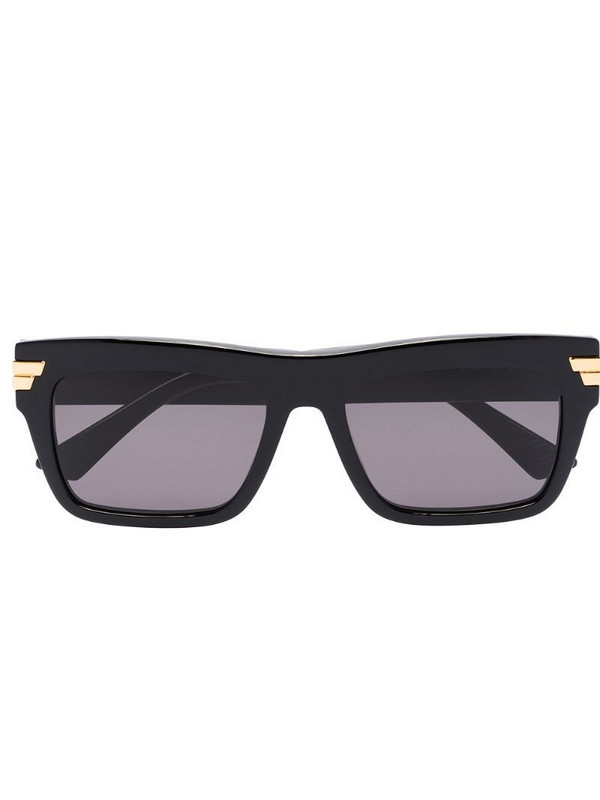 Bottega Veneta Eyewear wayfarer-frame sunglasses in black