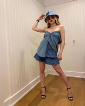 hat,top,skirt