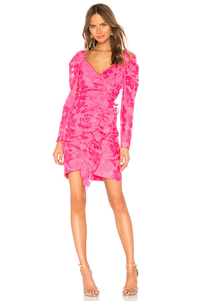 MILLY Grace Dress in pink