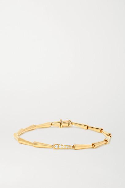 Melissa Kaye - Lola 18-karat Gold Diamond Bracelet
