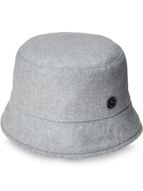Maison Michel reversible Axel bucket hat in grey