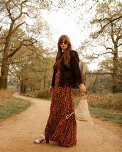 dress,maxi dress,leopard print,belted dress,shirt dress,short sleeve dress,white sandals,handbag,suede jacket