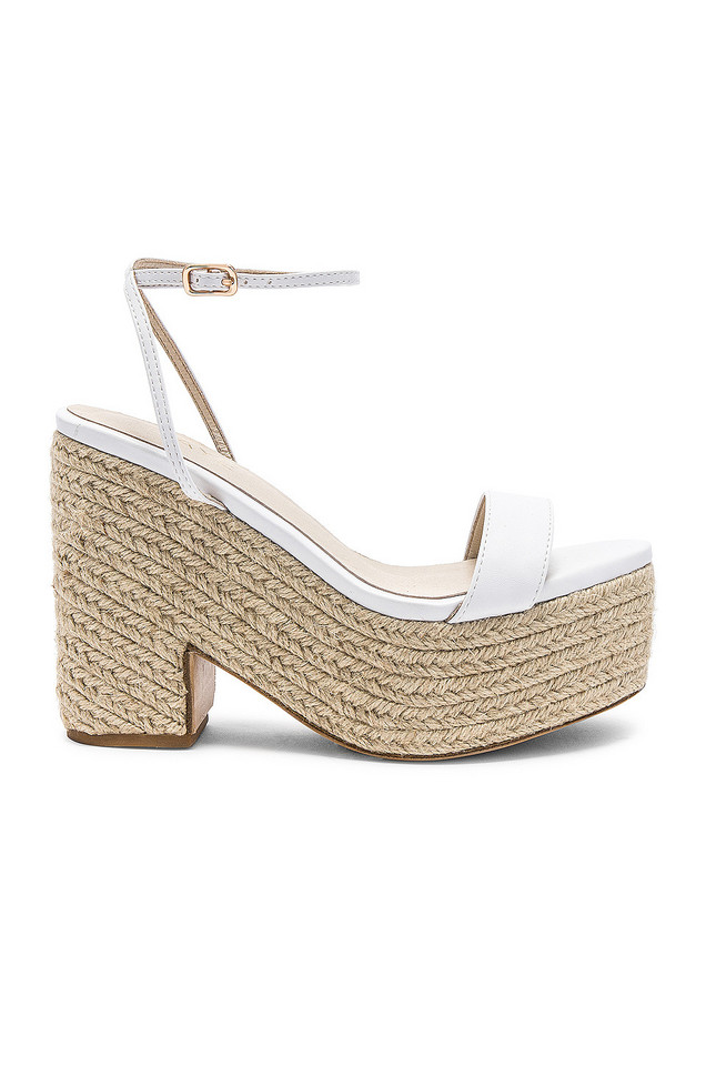 RAYE Gibson Heel in white