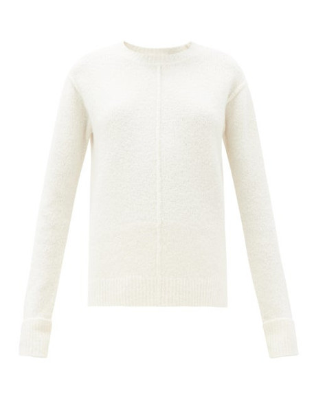 The Row - Annegret Round-neck Cashmere-blend Sweater - Womens - White
