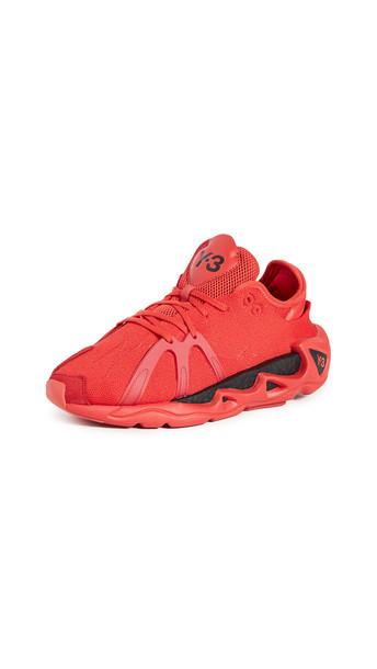Y-3 Y-3 Fyw S-97 Sneakers in black / red