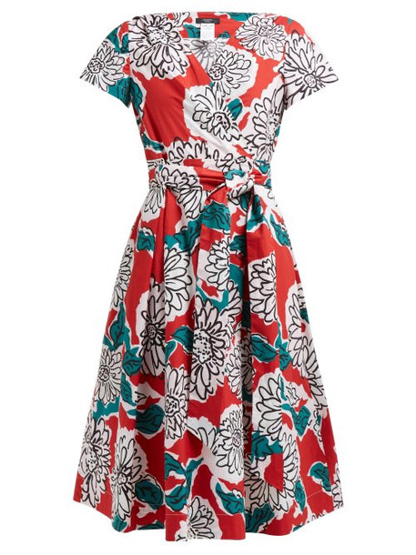 Weekend Max Mara - Oronte Dress - Womens - Red Multi