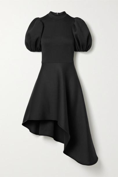 Beaufille - Leo Asymmetric Jersey Dress - Black