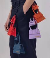 bag,purple bag