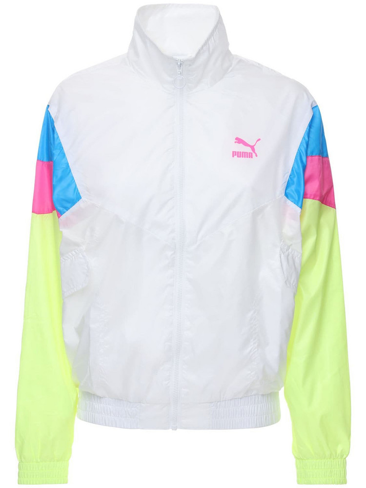 PUMA SELECT Tfs Track Jacket in white / multi